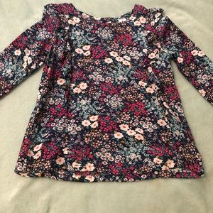 Carter's Girls Floral Tunic Top